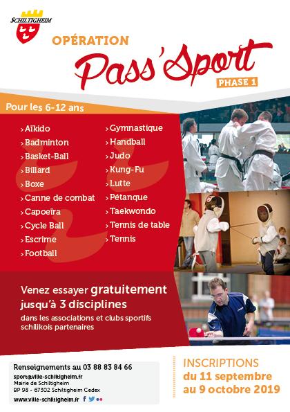Pass'Sport 6-12 ans